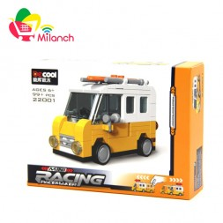 ماشین ساختنی دکول سری MINI RACING مدل 22001