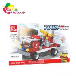 ساختنی ژی استار سری آتش نشانی (fire rescue) مدل 3-22031