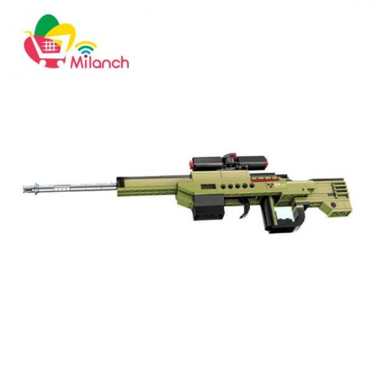 تفنگ ساختنی کیومن Qman سری نظامی Army Action مدل 4802